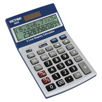 Victor 9800 12-Digit LCD Easy Check Display Two-Line Calculator