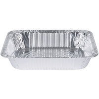 Choice 1/2 Size Foil Deep Steam Table Pan