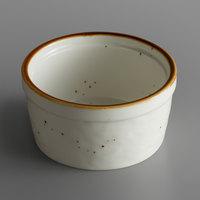 Acopa Keystone 4 oz. Vanilla Bean Porcelain Ramekin   - 72/Case
