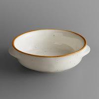 Acopa Keystone 13 oz. Vanilla Bean Porcelain Onion Soup Crock - 24/Case