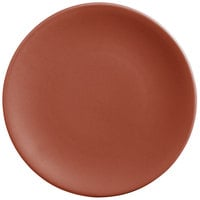 World Tableware DRI-2-C Driftstone 9 inch Clay Satin Matte Porcelain Coupe Plate - 12/Case