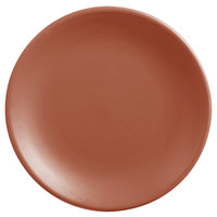 World Tableware DRI-1-C Driftstone 6 inch Clay Satin Matte Porcelain Coupe Plate - 24/Case