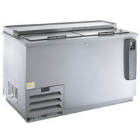 Beverage-Air DW49HC-S Hydrocarbon Series 50 inch Stainless Steel Deep Well Bottle Cooler