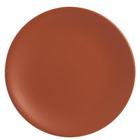 World Tableware DRI-3-C Driftstone 11 inch Clay Satin Matte Porcelain Coupe Plate - 12/Case