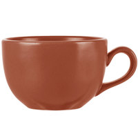 World Tableware DRI-12-C Driftstone 7.75 oz. Clay Satin Matte Porcelain Cup - 12/Case