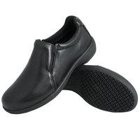 Genuine Grip 410 Women's Black Ultra Light Non Slip Slip-On Leather Shoe