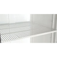 True 909111 White Coated Wire Shelf with Shelf Clips - 44 inch x 16 3/4 inch