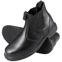 Genuine Grip 7141 Men's Black Non Slip Leather Boot
