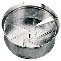 Tellier M5010 1/32 inch Perforated Replacement Sieve for # 5 Food Mill - Tin-Plated Steel