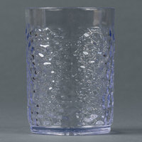 Carlisle 550507 Pebble Optic 5 oz. Clear SAN Plastic Tumbler - 24/Case