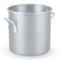 24 Qt. Vollrath Wear Ever Classic 4306 Aluminum Rolled Edge Stock Pot