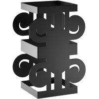 Rosseto SM294 Ionic 12 inch Black Matte Riser Stand