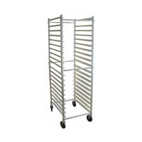 Win-Holt ADE1820B/KDA 20 Pan End Load Aluminum Bun / Sheet Pan Rack - Unassembled