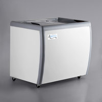 Avantco DFF9-HC 39 inch Flat Top Display Ice Cream Freezer