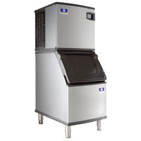 Manitowoc IDT0420A Indigo NXT 22 inch Air Cooled Dice Ice Machine with D320 Ice Bin - 115V, 470 lb.