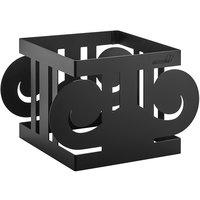 Rosseto SM326 Ionic 6 inch Black Matte Riser Stand