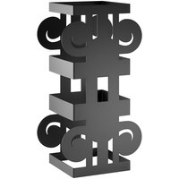 Rosseto SM320 Ionic 16 inch Black Matte Riser Stand