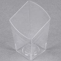 Fineline Tiny Temptations 6407-CL 2.2 oz. Tiny Trifles Clear Plastic Bowl - 200 / Case