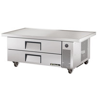 True TRCB-52-60 60 inch Two Drawer Refrigerated Chef Base