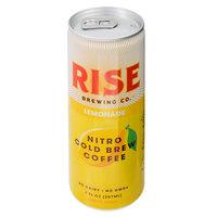 Rise Brewing Co. 7 oz. Lemonade Nitro Cold Brew Coffee   - 12/Case