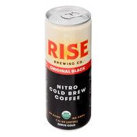 Rise Brewing Co. 7 fl. oz. Original Black Nitro Cold Brew Coffee   - 12/Case