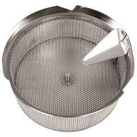 Tellier X5010 Stainless Steel 1/32 inch (1 mm) Basket Sieve for Food Mill