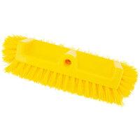 Carlisle 40422EC04 Sparta Spectrum 10 inch Hi-Lo Floor Scrub Brush with End Bristles