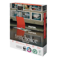 Domtar 85761 First Choice MultiUse 8 1/2 inch x 11 inch White 24# Premium Paper - 5000/Sheets