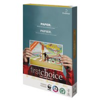 Domtar 85311 First Choice ColorPrint 11 inch x 17 inch White 28# Premium Paper - 500/Sheets