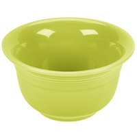 Homer Laughlin 450332 Fiesta Lemongrass 6.75 oz. Bouillon - 12/Case