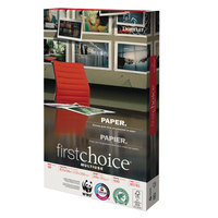 Domtar 85781 First Choice MultiUse 8 1/2 inch x 14 inch White 24# Premium Paper - 500/Sheets