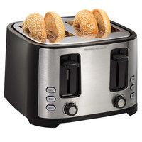 Hamilton Beach 24633 Extra-Wide Slot 4 Slice Bagel Toaster