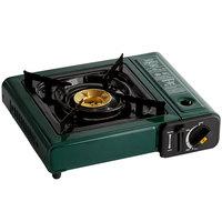 Choice Green 1-Burner High Performance Butane Countertop Range / Portable Stove with Brass Burner - 8,000 BTU