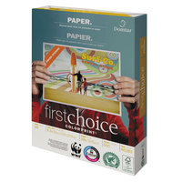 Domtar 85283 First Choice ColorPrint 8 1/2 inch x 11 inch White 28# Premium Paper - 500/Sheets