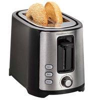 Hamilton Beach 22633 Extra-Wide Slot 2 Slice Bagel Toaster