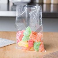 Elkay Plastics P12F0436 Plastic Food Bag / Candy Bag 4 3/4 inch x 6 3/4 inch - 5000/Box