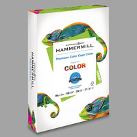 Hammermill 120037 11 inch x 17 inch Premium Photo White Ream of 80# Color Copy Cover Paper - 250/Sheets