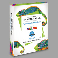 Hammermill 122549 8 1/2 inch x 11 inch Premium Photo White Ream of 60# Color Copy Cover Paper - 250/Sheets