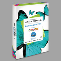 Hammermill 104620 11 inch x 17 inch Premium Laser White Ream of 24# Copy Paper - 500/Sheets