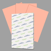 Hammermill 102103 11 inch x 17 inch Salmon Ream of 20# Recycled Colored Copy Paper - 500/Sheets