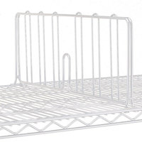 Metro DD24W 24 inch White Wire Shelf Divider