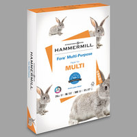 Hammermill 102848 Fore 11 inch x 17 inch White Ream of 24# Multipurpose Copy Paper - 500/Sheets