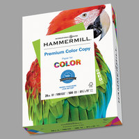 Hammermill 102450 8 1/2 inch x 11 inch Premium Photo White Case of 28# Color Copy Paper - 2500/Sheets
