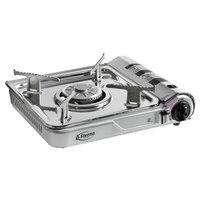 Sterno 50178 1-Burner Stainless Steel Butane Countertop Range / Portable Stove - 7,000 BTU