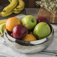 Carlisle 609208 2.5 Qt. Stainless Steel Hammered Insulated Serving Bowl