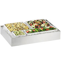 Cal-Mil 1398-55 Cater Choice System Stainless Steel Ice Housing - 32 inch x 24 inch x 4 1/4 inch