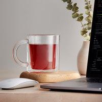 Viva Scandinavia VS71500 Classic 13.25 oz. Double Wall Glass Mug - 12/Case
