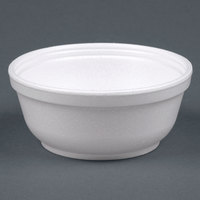 Dart Solo 8B20 8 oz. Insulated White Customizable Foam Bowl - 1000/Case