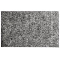 H. Risch, Inc. SP-0001 Seaport 17 1/2 inch x 12 inch Sail Cloth Woven Vinyl Rectangle Placemat
