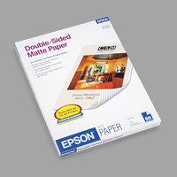 Epson S041568 8 1/2 inch x 11 inch Premium Matte 45# Presentation Paper- 50 Sheets